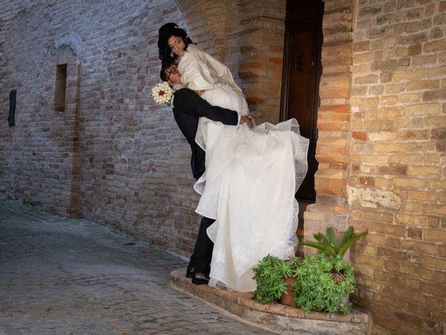 Il matrimonio di Alberto e Federica a Lapedona, Fermo 41
