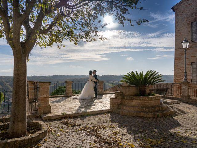 Il matrimonio di Alberto e Federica a Lapedona, Fermo 42