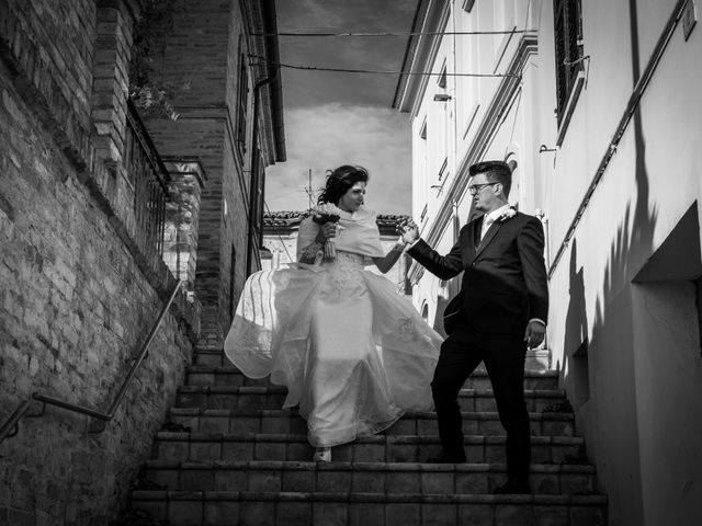 Il matrimonio di Alberto e Federica a Lapedona, Fermo 43