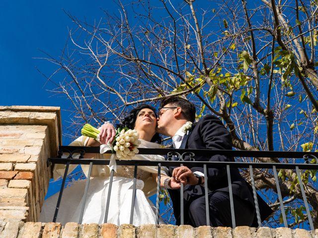 Il matrimonio di Alberto e Federica a Lapedona, Fermo 44