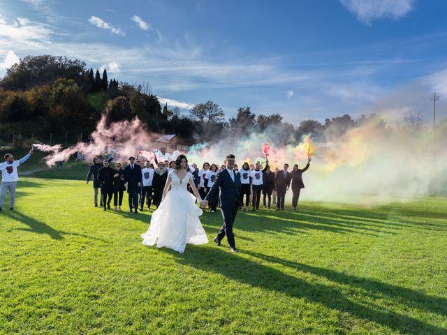 Il matrimonio di Alberto e Federica a Lapedona, Fermo 46