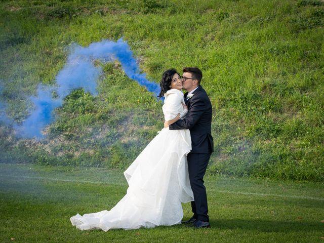 Il matrimonio di Alberto e Federica a Lapedona, Fermo 48
