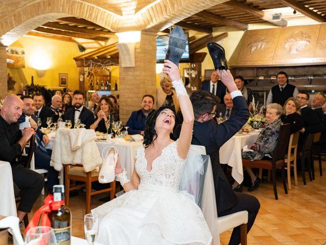 Il matrimonio di Alberto e Federica a Lapedona, Fermo 49