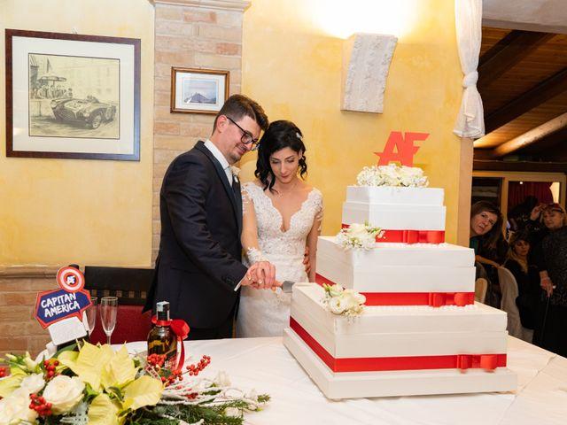 Il matrimonio di Alberto e Federica a Lapedona, Fermo 52