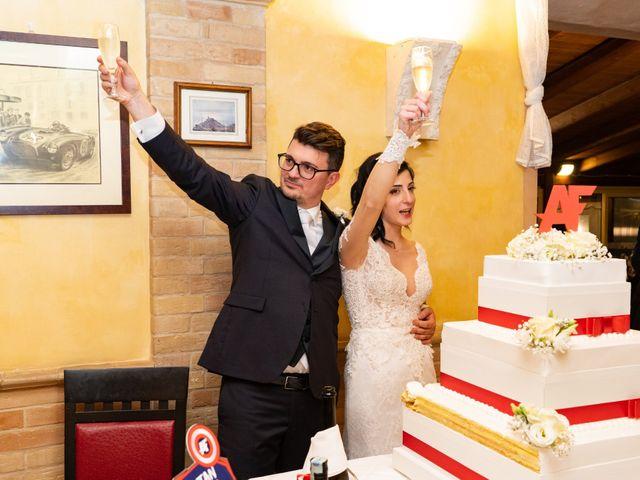 Il matrimonio di Alberto e Federica a Lapedona, Fermo 53