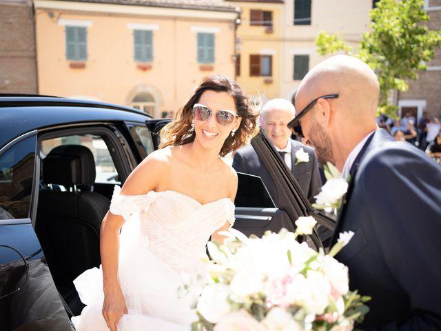 Il matrimonio di Matteo e Silvia a Camerata Picena, Ancona 13