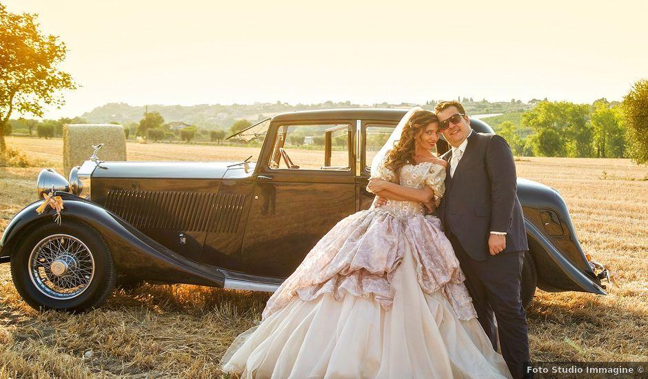 Il matrimonio di Vincenzo e Valentina a Sant'Omero, Teramo