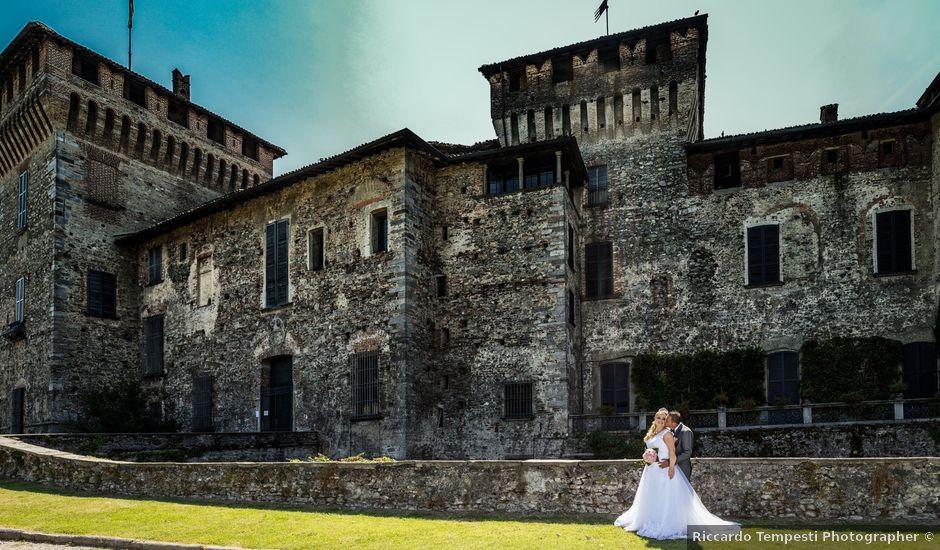 Il matrimonio di Angelo e Diana a Somma Lombardo, Varese