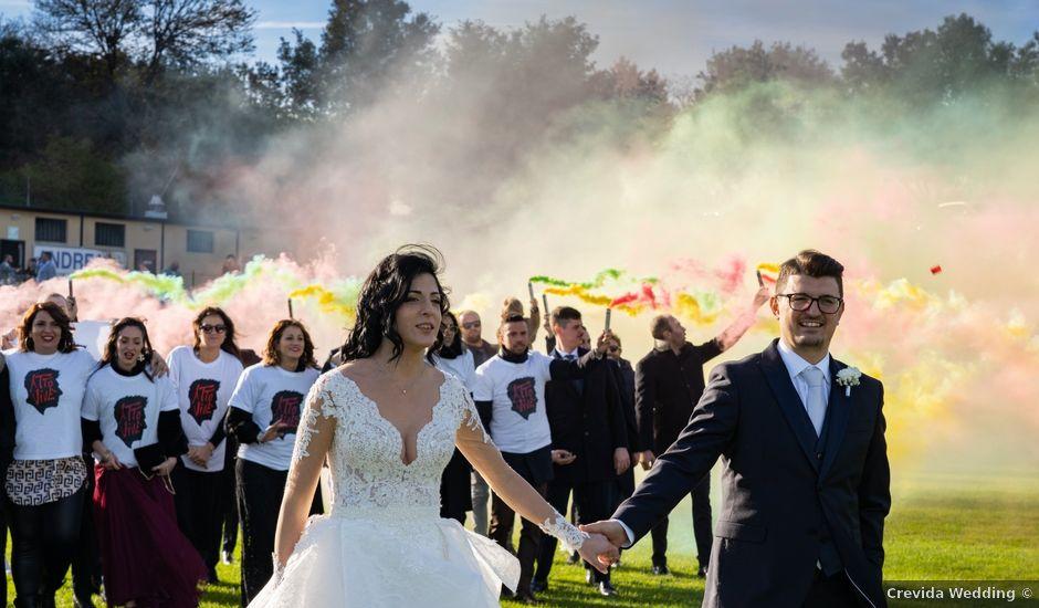 Il matrimonio di Alberto e Federica a Lapedona, Fermo