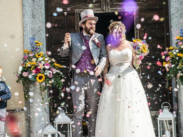 Il matrimonio di Sergio e Jessica a Bottanuco, Bergamo 85