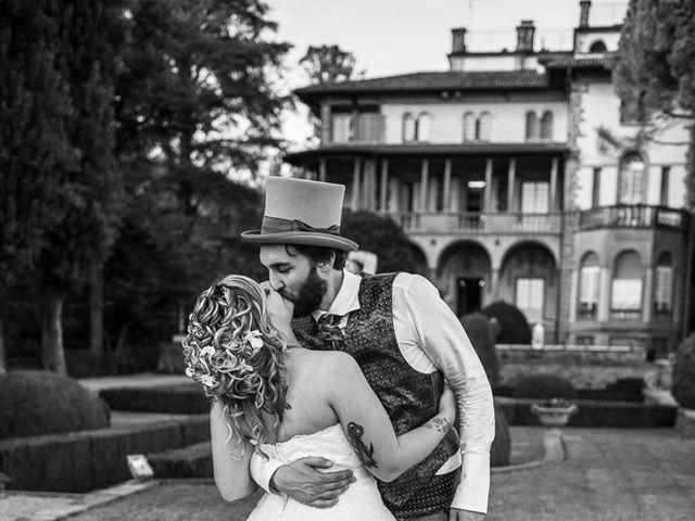 Il matrimonio di Sergio e Jessica a Bottanuco, Bergamo 124
