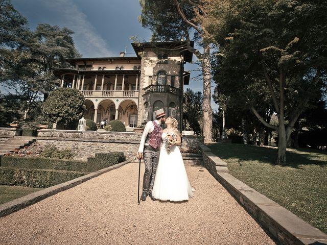 Il matrimonio di Sergio e Jessica a Bottanuco, Bergamo 128