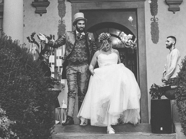 Il matrimonio di Sergio e Jessica a Bottanuco, Bergamo 144