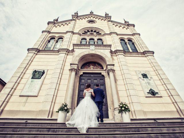 Il matrimonio di Stefano e Francesca a Torre de' Roveri, Bergamo 32