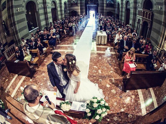 Il matrimonio di Stefano e Francesca a Torre de' Roveri, Bergamo 41