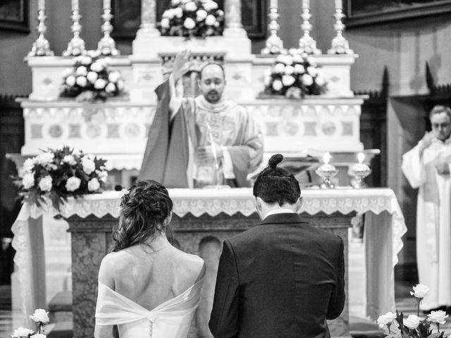 Il matrimonio di Stefano e Francesca a Torre de' Roveri, Bergamo 45
