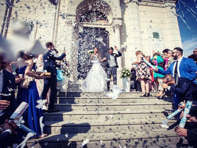 Il matrimonio di Stefano e Francesca a Torre de' Roveri, Bergamo 46