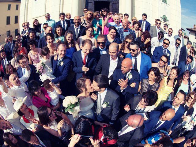 Il matrimonio di Stefano e Francesca a Torre de' Roveri, Bergamo 47