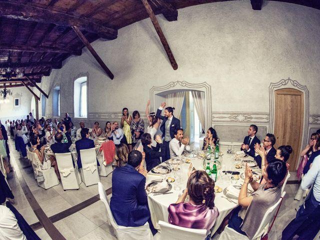 Il matrimonio di Stefano e Francesca a Torre de' Roveri, Bergamo 64