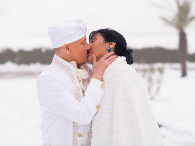 le nozze di Mirella e Nikita