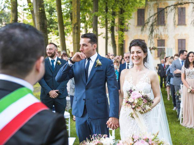 Il matrimonio di Marco e Francesca a Robecco sul Naviglio, Milano 21