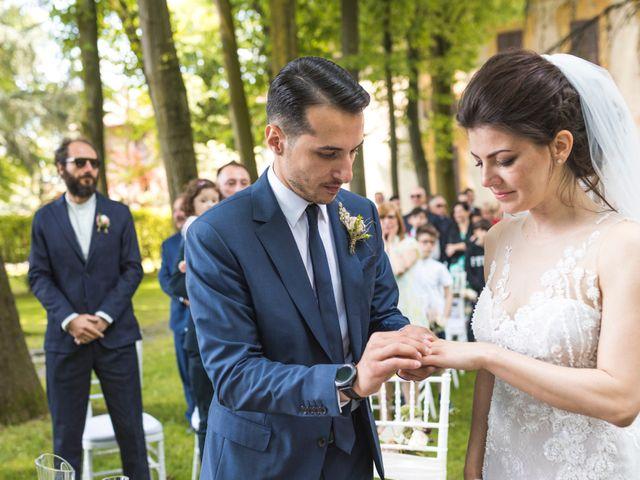 Il matrimonio di Marco e Francesca a Robecco sul Naviglio, Milano 26