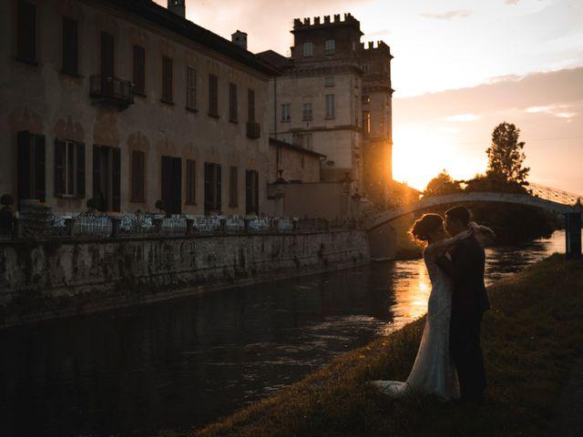 Il matrimonio di Marco e Francesca a Robecco sul Naviglio, Milano 57