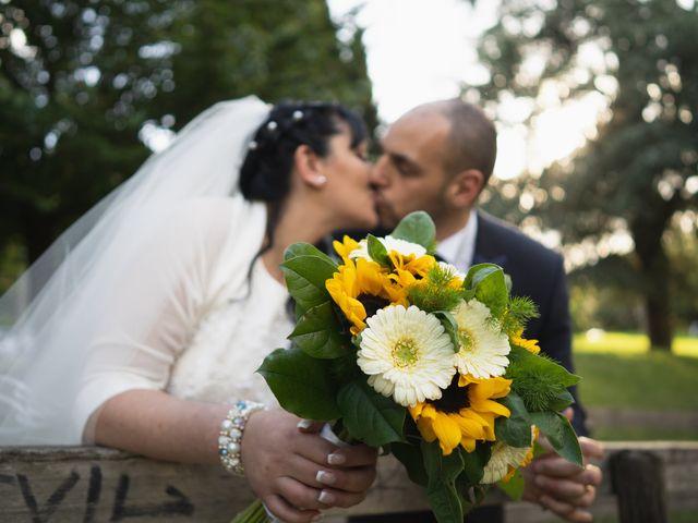Le nozze di Rosaria e Emanuele