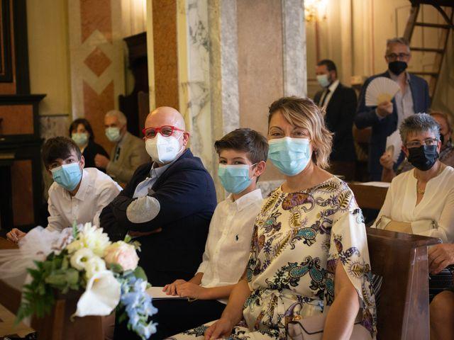 Il matrimonio di Michele e Francesca a Montemarzino, Alessandria 236