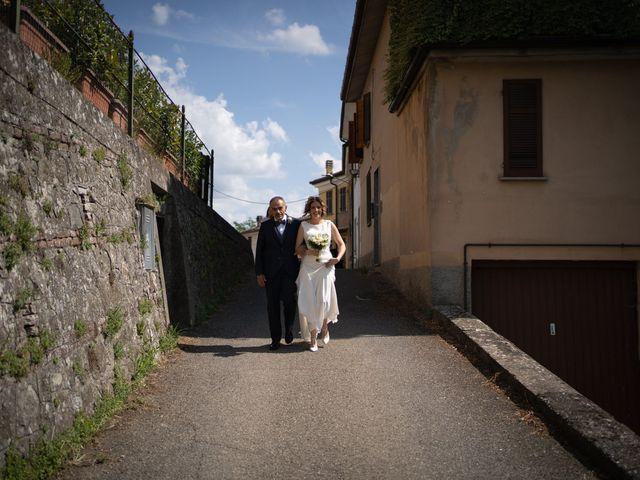 Il matrimonio di Michele e Francesca a Montemarzino, Alessandria 241