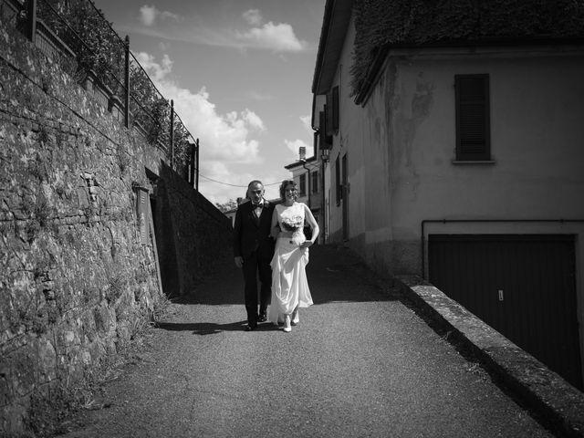 Il matrimonio di Michele e Francesca a Montemarzino, Alessandria 242