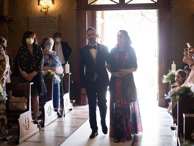 Il matrimonio di Michele e Francesca a Montemarzino, Alessandria 245
