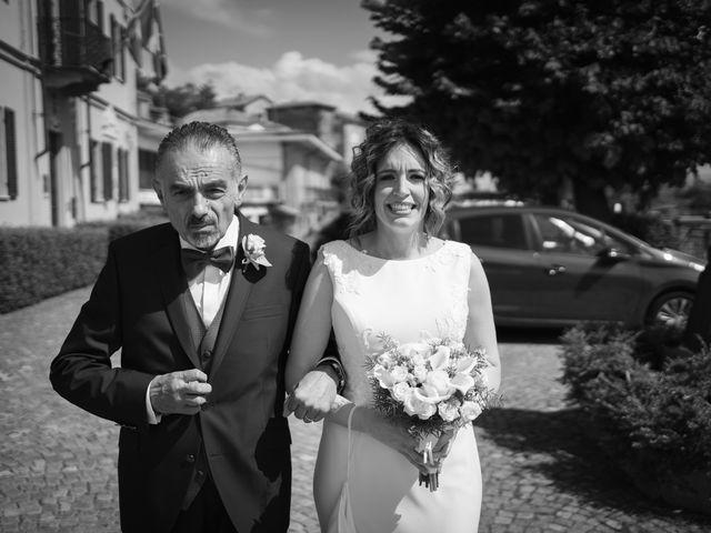 Il matrimonio di Michele e Francesca a Montemarzino, Alessandria 248