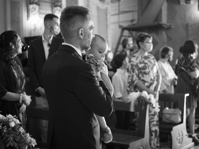 Il matrimonio di Michele e Francesca a Montemarzino, Alessandria 252