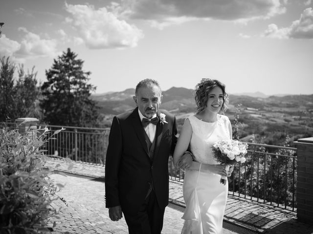 Il matrimonio di Michele e Francesca a Montemarzino, Alessandria 255