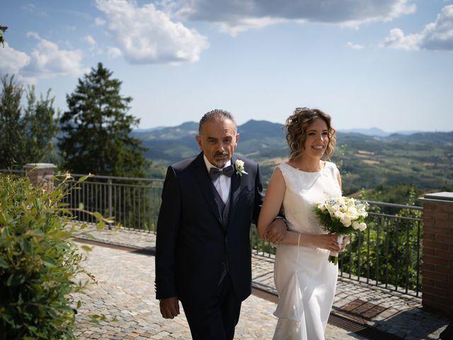 Il matrimonio di Michele e Francesca a Montemarzino, Alessandria 256