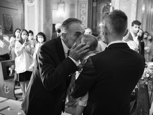Il matrimonio di Michele e Francesca a Montemarzino, Alessandria 263