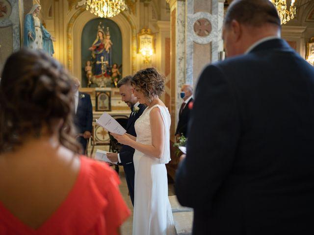 Il matrimonio di Michele e Francesca a Montemarzino, Alessandria 265