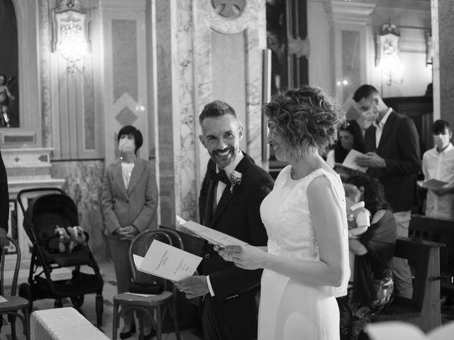 Il matrimonio di Michele e Francesca a Montemarzino, Alessandria 266