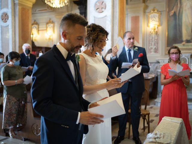 Il matrimonio di Michele e Francesca a Montemarzino, Alessandria 273