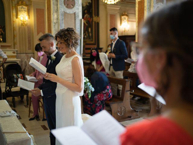 Il matrimonio di Michele e Francesca a Montemarzino, Alessandria 279