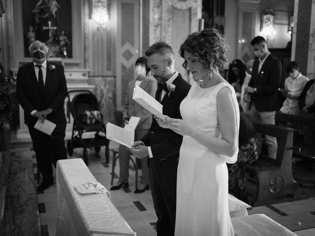 Il matrimonio di Michele e Francesca a Montemarzino, Alessandria 280