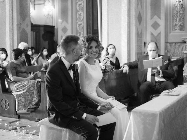 Il matrimonio di Michele e Francesca a Montemarzino, Alessandria 284