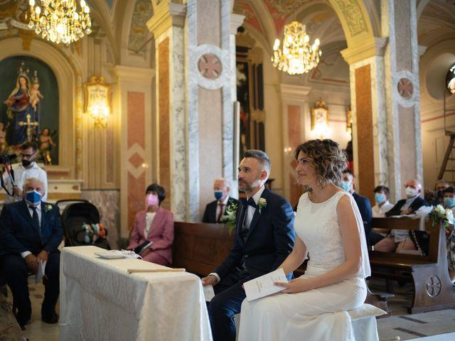 Il matrimonio di Michele e Francesca a Montemarzino, Alessandria 285