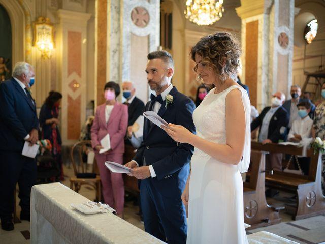 Il matrimonio di Michele e Francesca a Montemarzino, Alessandria 287
