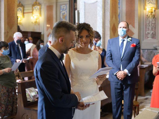Il matrimonio di Michele e Francesca a Montemarzino, Alessandria 288