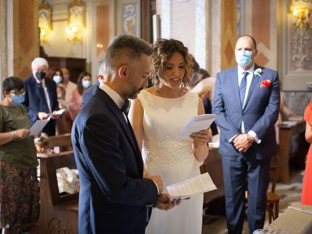 Il matrimonio di Michele e Francesca a Montemarzino, Alessandria 289