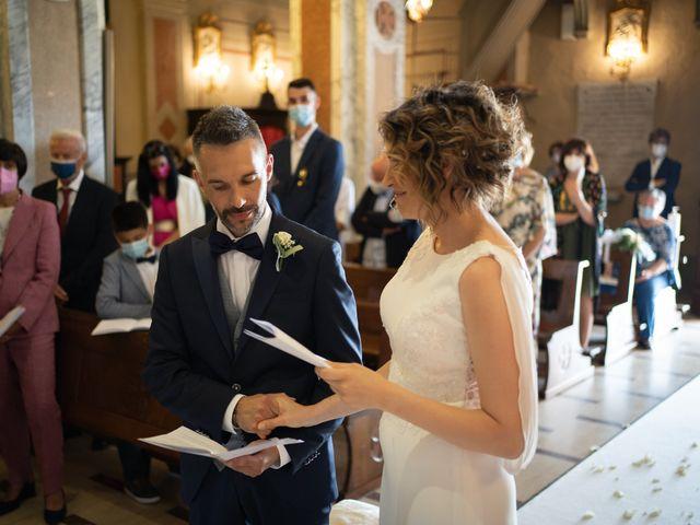 Il matrimonio di Michele e Francesca a Montemarzino, Alessandria 290