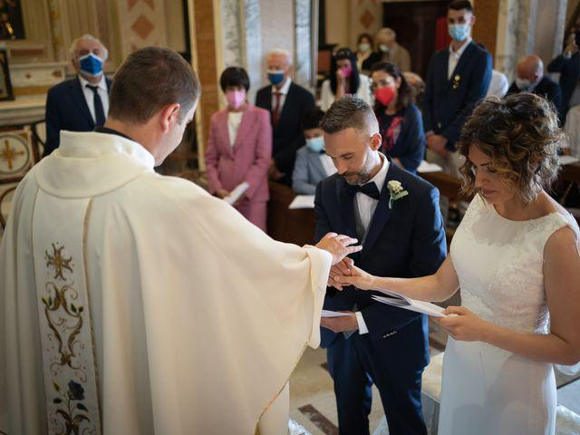 Il matrimonio di Michele e Francesca a Montemarzino, Alessandria 291