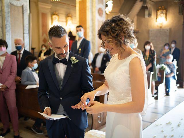 Il matrimonio di Michele e Francesca a Montemarzino, Alessandria 294